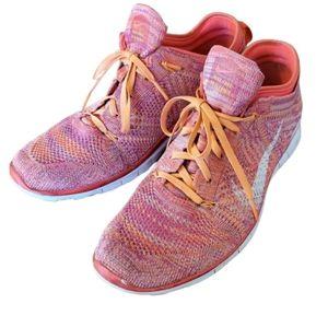 Women's Nike Free TR Flyknit runners size 10.5